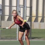 Girls Tennis: Claims first NWSC title