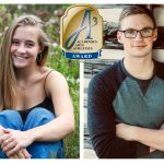 Sydney Friederich and Zach Hopp honored with Triple A Award