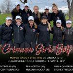 Girls Golf: Sweep Anoka on the links