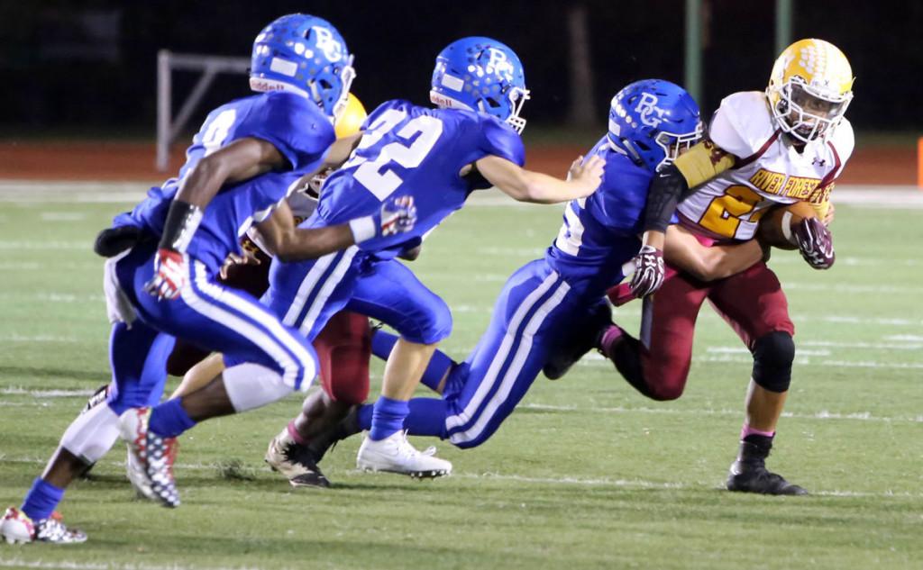 Boone Grove defense shines in shutout win over Ingots
