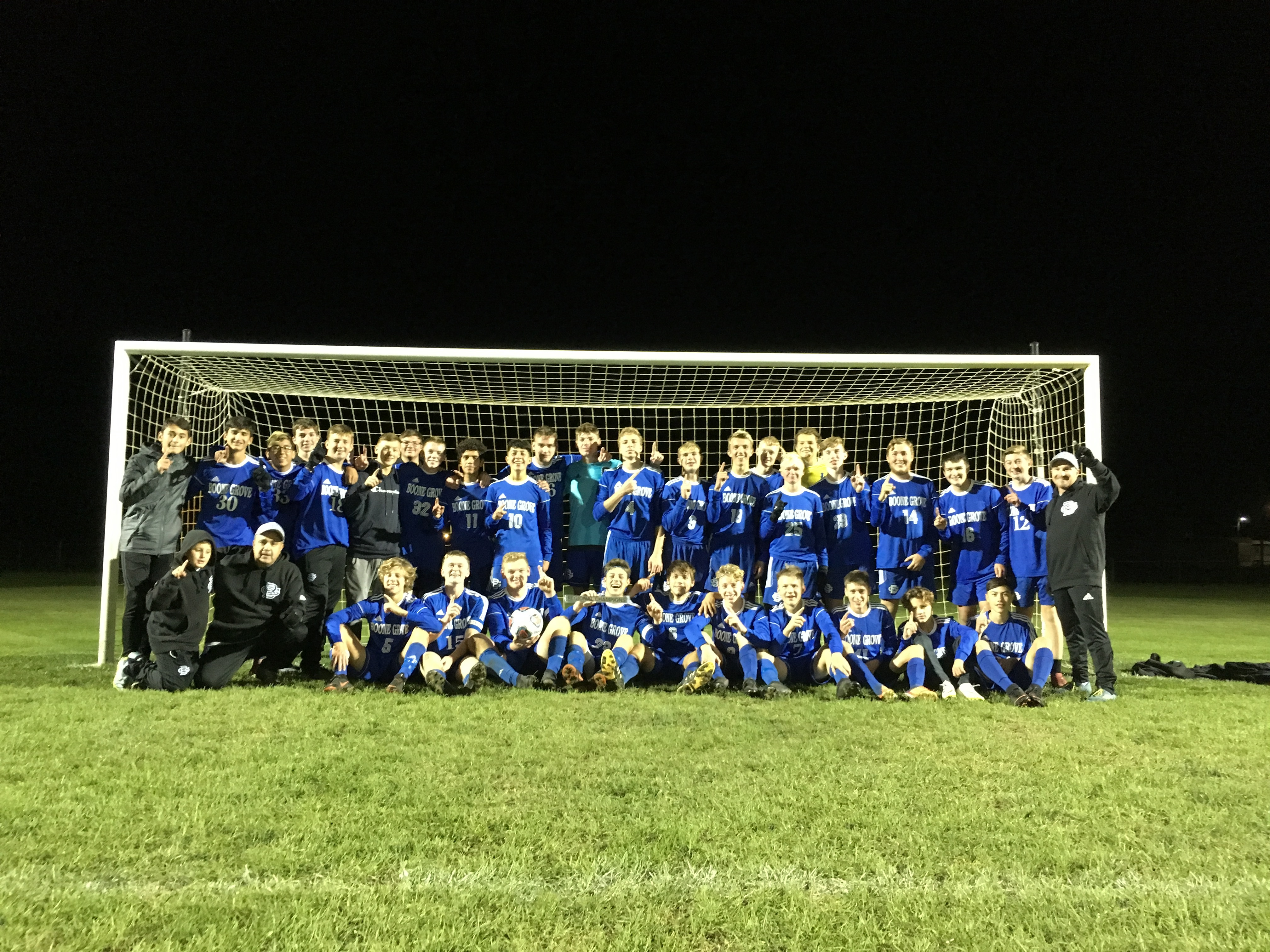 Boone Grove earns second straight regional title with win over Argos