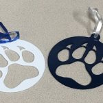 Wolf Paw Ornaments