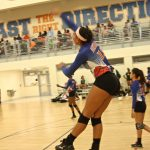 Volleyball Sweeps Blue Devils