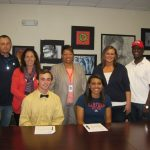 Jake Mueller & Shayla Phillip Sign College NLI's
