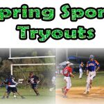 Spring Sports Tryout Information