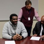 Norman Wallace signs with Fairmont State