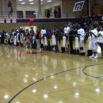 Northeast Basketball Team's honor Seniors