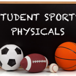 Sports Physicals for next school year will be offered on April 18th