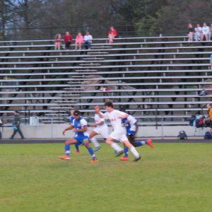 RNE Boys' Soccer in Action