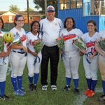 Softball Seniors Honored