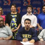 Javier Moreno signs National Letter of Intent