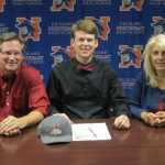 Harrison Merck signs to play Baseball for Fire Ants