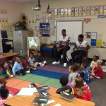 RNE Athletes Visit Conder Elementary