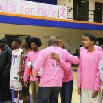 Basketball Teams honor Seniors