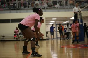 Volleyball Dig Pink Match