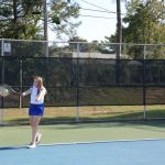 Richland Northeast High School Girls Varsity Tennis falls to Dreher High School 5-1