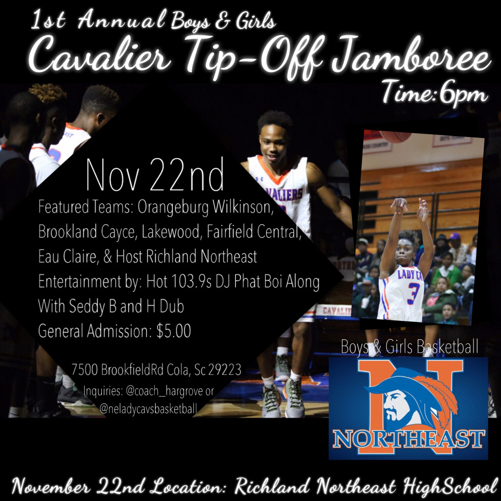 Basketball Jamboree on Nov. 22nd