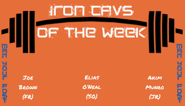 Iron Cavs of the Week