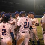 Baseball Teams wins District Playoffs Opener