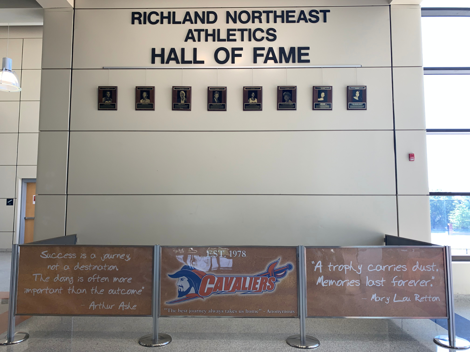 Congratulations Inaugural Hall of Fame Class