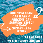 Swim Team Fundraiser