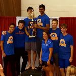 Boys Swimming Wins Region