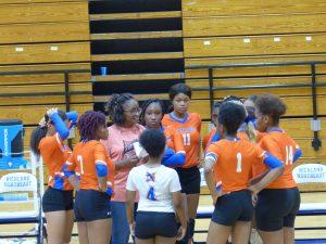 JV Volleyball v. Ridge View 10/15/19
