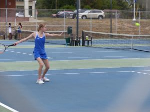 Girls Tennis v. Ridge View 10/15/19