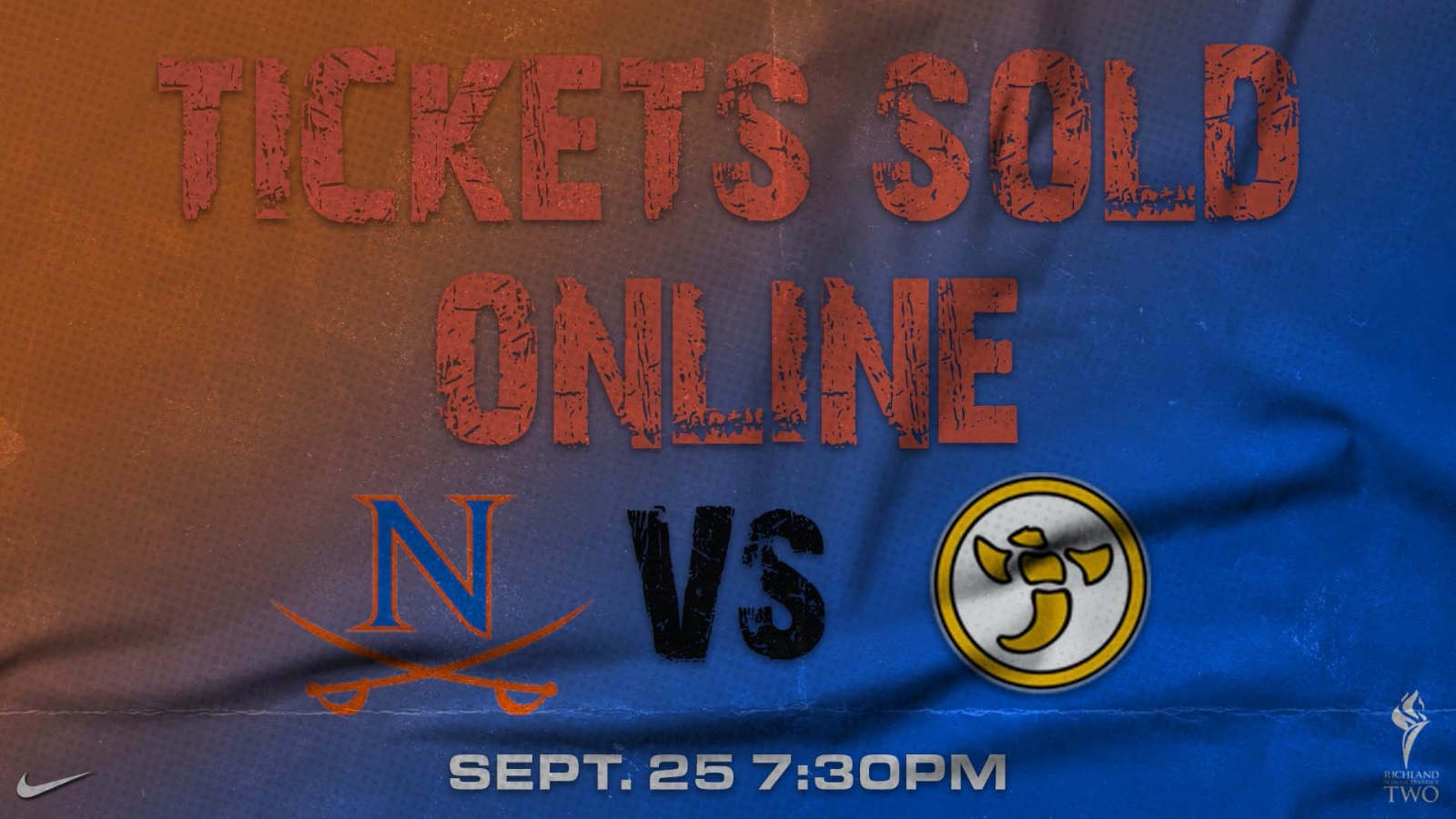 Online Football Game Tickets are now on Sale for Sept. 25th Game