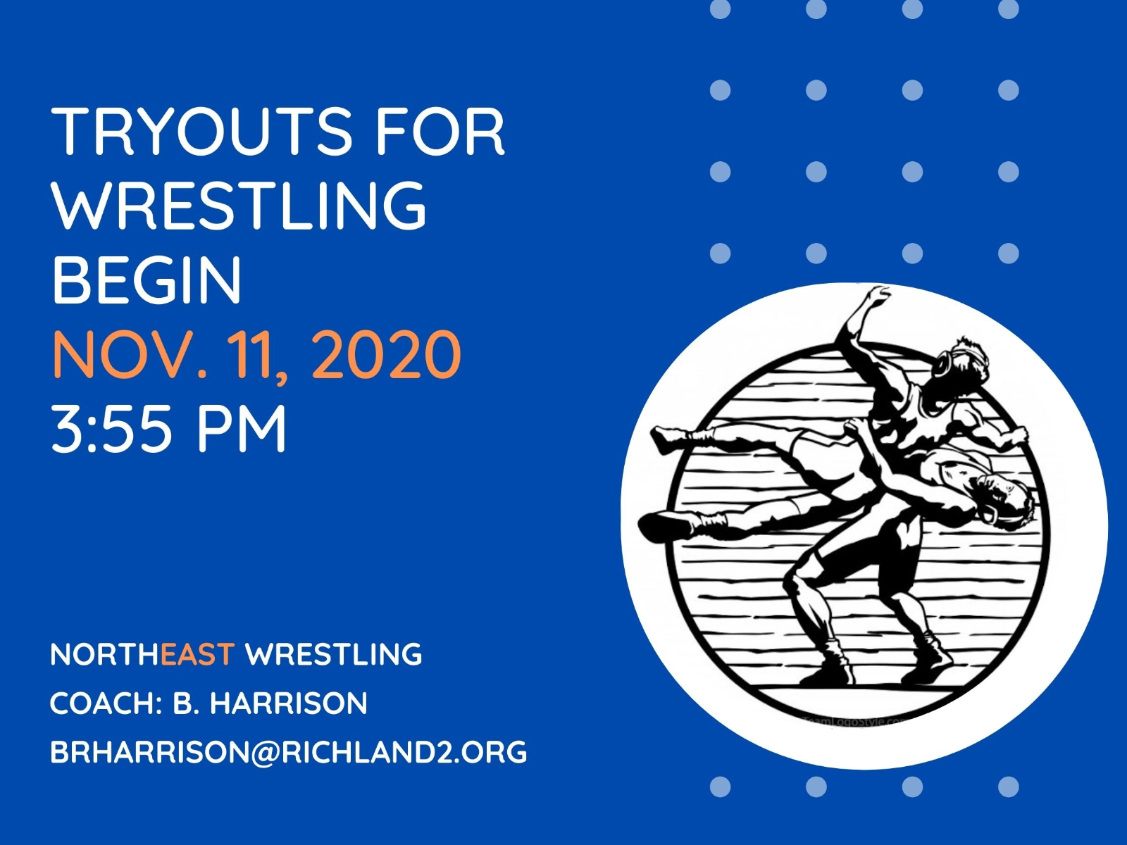 Wrestling Tryouts Announced
