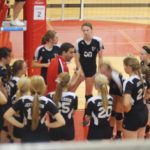 Varsity Volleyball locks up All-American Conference Championship
