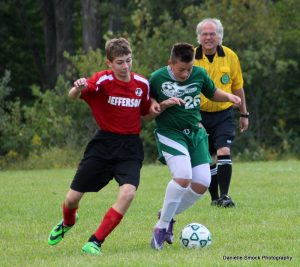 Jr High Soccer vs Lakeside 9/18/14