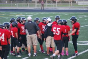 8th Grade FB @ Lakeview