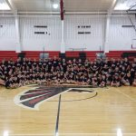 Wrapping up a great week of Youth Basketball camp