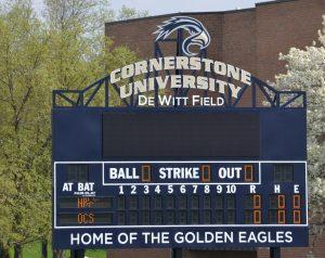 Boys' Varsity Baseball DH at Cornerstone University