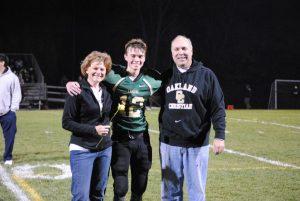 Varsity football Senior Night 10-24-14
