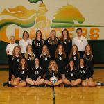 Oakland Christian High School Girls Varsity Volleyball beat Luthern HS Westland 3-1