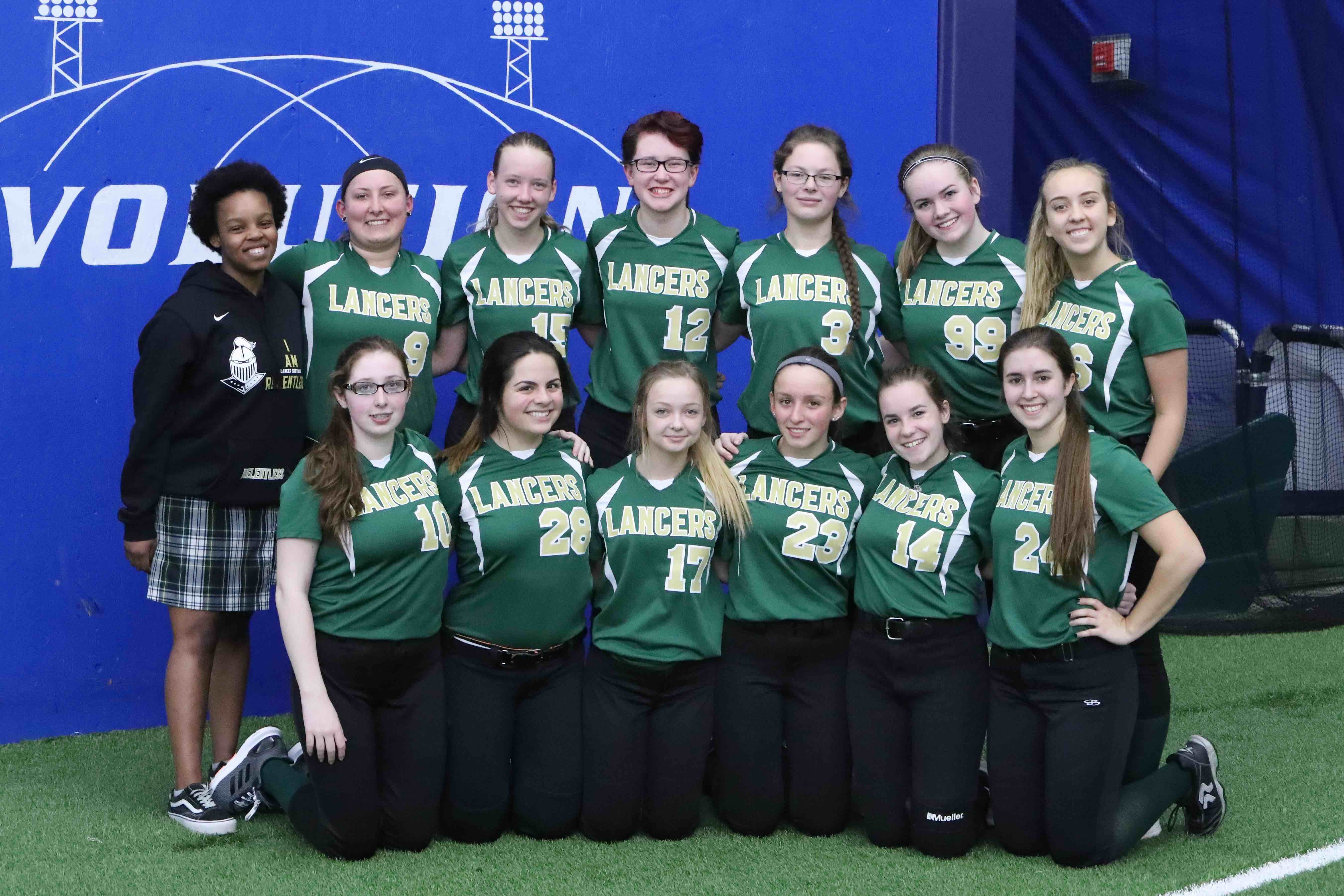 Lancers Softball Defeats Huron Valley