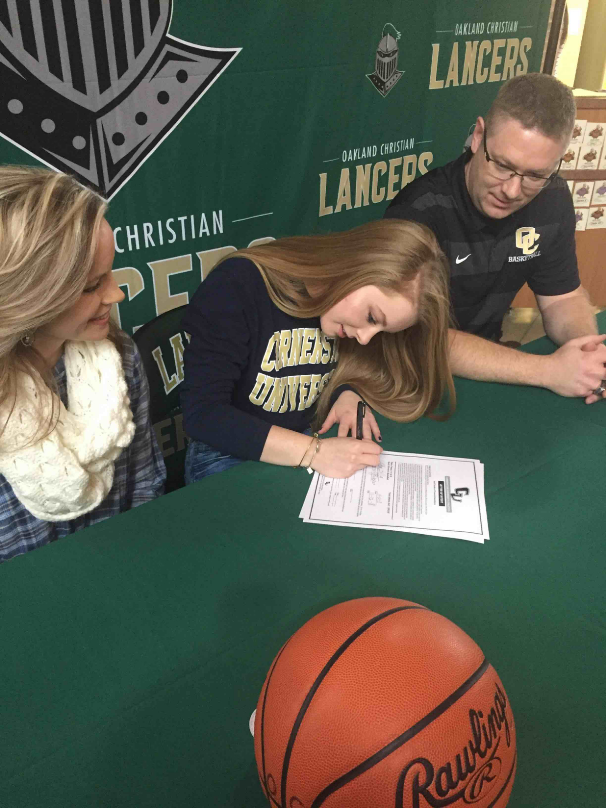 Hopkins Signs with Cornerstone University