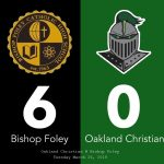 Women's Varsity Soccer falls to Bishop Foley 6 – 0