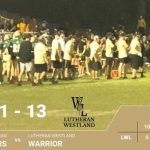 Lancer Football Defeats Lutheran Westland 31-13