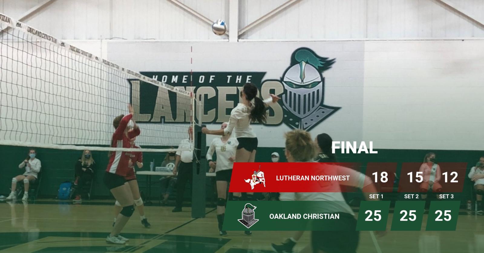 Lady Lancer Volleyball Defeats Northwest 3-0