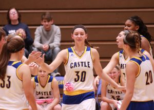 Girls Basketball vs. Ev. North (Photos courtesy of Rick Kozlecar)