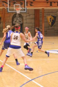 Girls Basketball vs. Memorial (Photos courtesy of Rick Kozlecar)