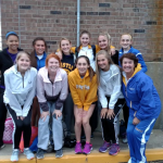 Castle High School Girls Varsity Track finishes 1st place