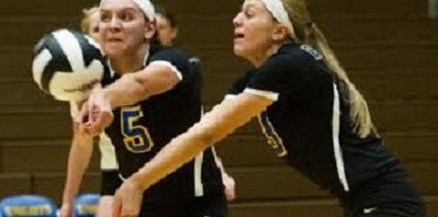 Nunge named to MP Junior All-American VB Team