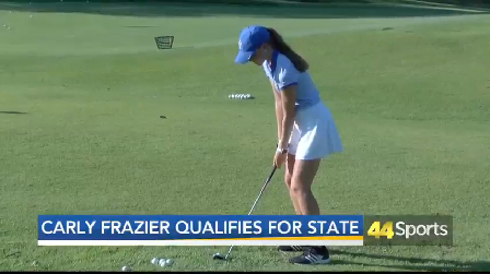 Carly Frazier Qualifies for Girls Golf State