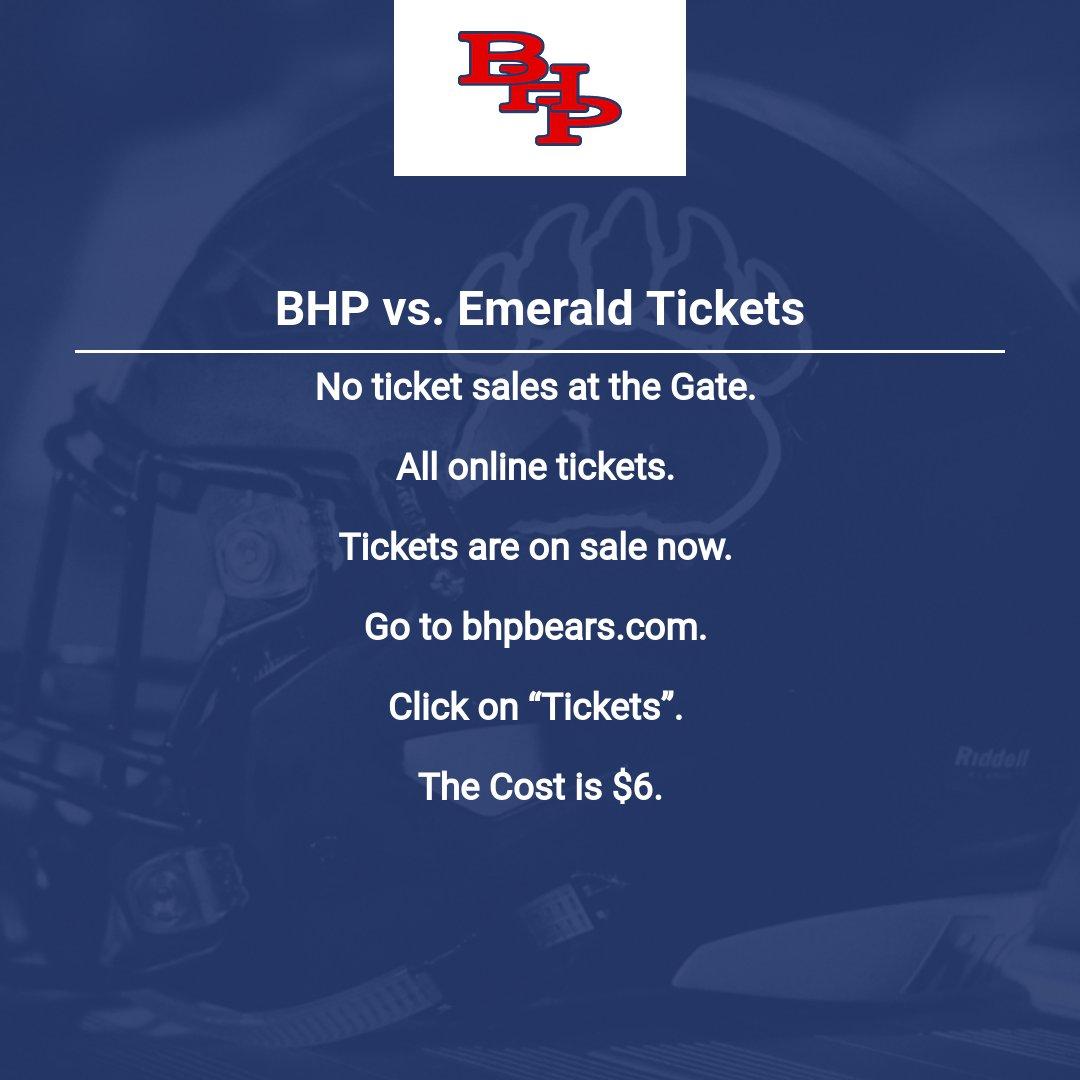 BHP vs. Emerald Tickets
