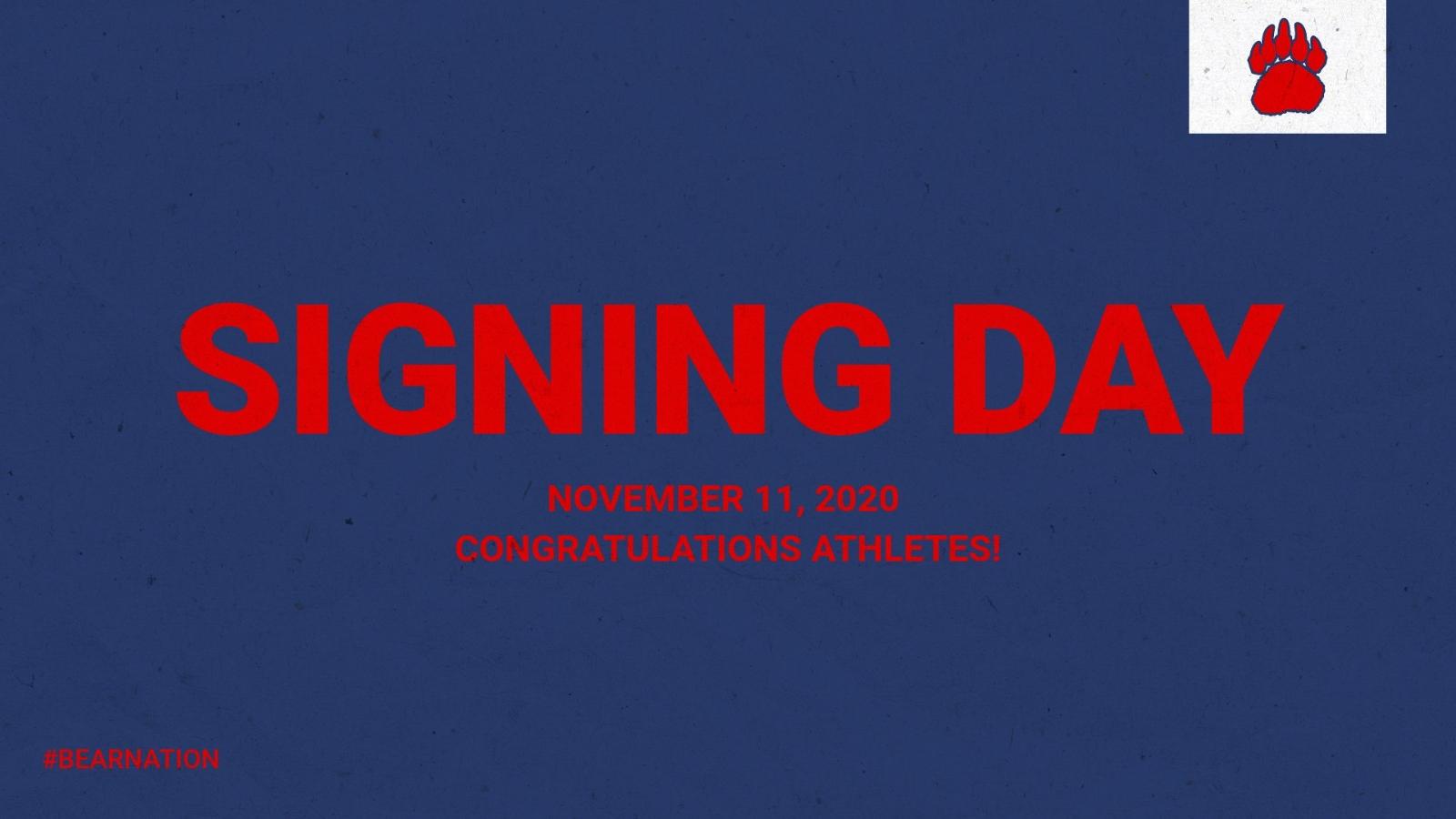 November Signing Day