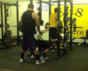 Jude Olesh in the Weight Room
